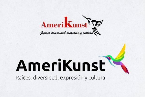 Comparación de Logos Amerikunst