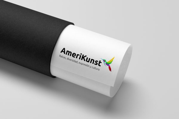 Amerikunst Logo in Tube
